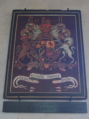 Royal Arms of George I, Ebrington (Aidan McRae Thomson) Tags: church painting gloucestershire georgian royalarms ebrington