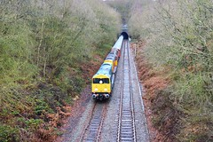 20096 at Swain's Wood (robmcrorie) Tags: park old west london train underground derbyshire stock tube rail class line 20 moira swains coalville dalby ruislip 20096 20107 20314 overseal 20132 gbfr 7x09