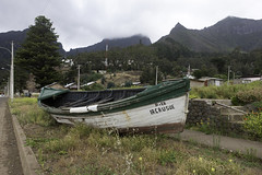 IRCrusoe Boat (blueheronco) Tags: chile boat woodenboat sanjuanbautista woodboat robinsoncrusoeisland juanfernandezislands archipelagojuanfernandez ircrusoe