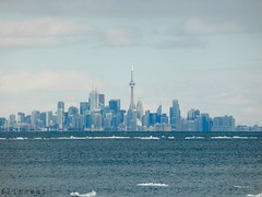 On A Clear Day (flipkeat) Tags: toronto ontario tower ice skyline cn cityscape different awesome february lae
