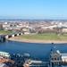 Dresden Altstadt Luftbild Panorama