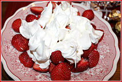 Strawberries & Whipped Cream (bigbrowneyez) Tags: sexy fruit dessert sweet cream strawberries tasty lick delicious dolce fabulous striking edible delightful whipped tempting ambrosia decadent zucchero frutti fragole whitered sugarsweet forsharing strawberrieswhippedcream flickrwhippedcream