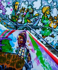 DSC01747.jpg (Mel Jennings) Tags: graffiti iceland vibrant reykjavik carpark bight