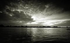 The dramatic sunrise (M a u r i c e) Tags: sky sunlight holland church netherlands sunrise reflections river cloudy maas efs1022mm grubbenvorst