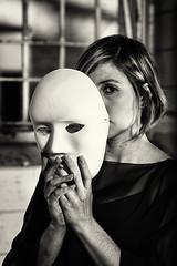No Good Place For The Lonely (Mathias Brea) Tags: mujer retrato mascara virado