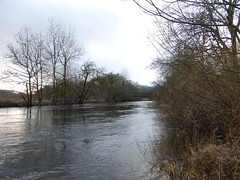 Garbh Uisge in flood, Callander (luckypenguin) Tags: winter river scotland stirling perthshire callander teith garbhuisge