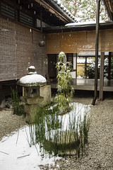 Zuihou-in in Winter  (PV9007 Photography) Tags: schnee winter snow temple japanese kyoto buddhist zen       tempel    japanischer daitokuji  buddhistischer
