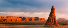 Dancing Rocks - Arizona - USA (~ Floydian ~ ) Tags: sunset panorama usa nature canon landscape photography evening stitch dusk pano panoramic stitching navajoreservation rockpoint whalerock floydian canoneos1dsmarkiii henkmeijer dancingrocks tsébináookahi