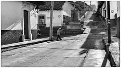 Patzcuaro,  Michoacn, Mexico (Timothy Neesam (GumshoePhotos)) Tags: street travel blackandwhite bw mexico fuji fujifilm michoacn patzcuaro streetscape
