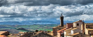 Over the roofs of Loreto (AN-Italy)