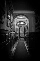 """Dunster Castle in Black and white • <a style=""""font-size:0.8em;"""" href=""""http://www.flickr.com/photos/32236014@N07/25627206146/"""" target=""""_blank"""">View on Flickr</a>"""