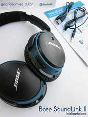 SoundLink II Bluetooth Bose Auriculares