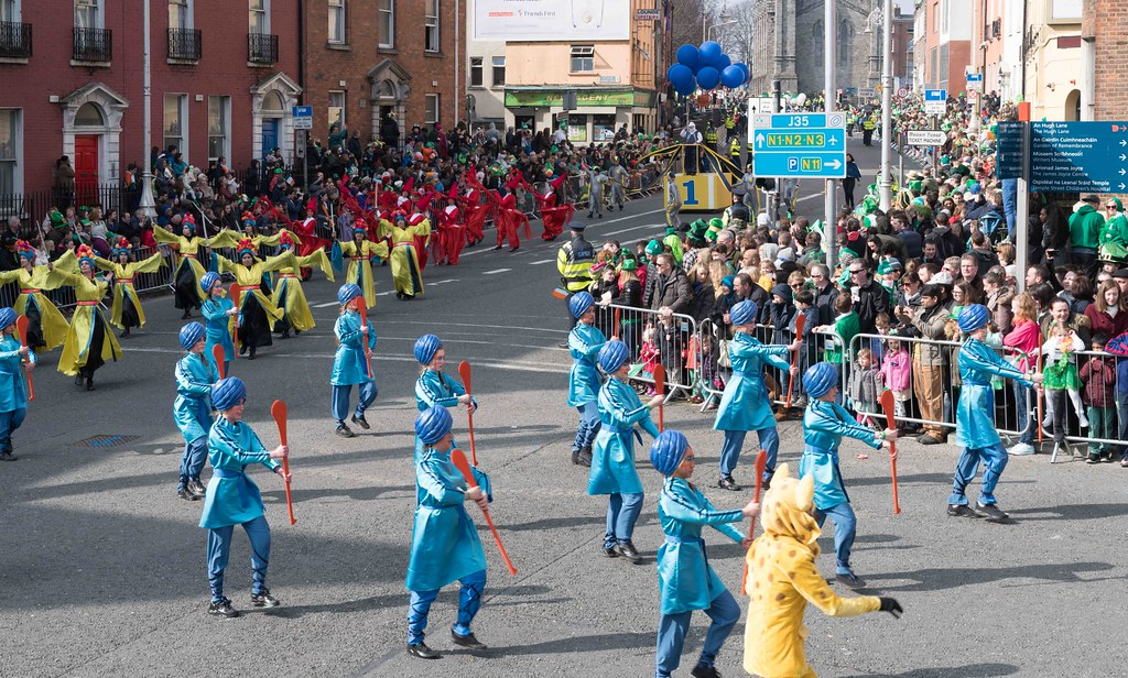 GAME ON BY CITY FUSION [DUBLIN 2016 PATRICK'S DAY PARADE]-112582
