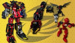 thumpnail youtube (demon14082001) Tags: robot lego super technic combine bionicle mech shuriken moc sentai tokusatsu gattai ninninger shurikenjin