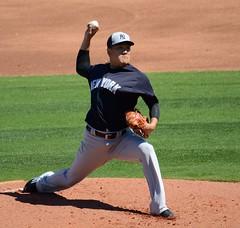 Masahiro Tanaka (Buck Davidson) Tags: new york sports training major spring media baseball pro buck yankees davidson league tanaka 2016 masahiro