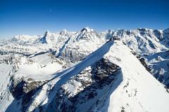 The Schilthorn (chriscom) Tags: mountains alps switzerland spring bern lauterbrunnen ch schilthorn mrren