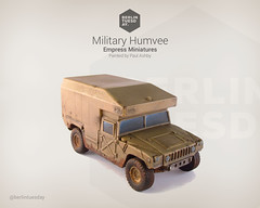 Humvee / Military Vehicle / Empress Miniatures (berlintuesday) Tags: truck painting army miniatures model painted military vehicle empress humvee wargame tabletop wargames stryker wargaming