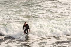 ArchitectGJA-0776.jpg (ArchitectGJA) Tags: ocean california people santacruz beach sport coast streetphotography montereybay surfing cliffs steamerlane oneill cliffdiving wetsuit lighthousepoint lighthousefield marineanimals surfingsteamerlane gnarlyboard