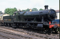 2857 at Bridgnorth, Severn Valley Rly. June 1988 (Brit 70013 fan) Tags: heritage br great engine railway goods steam western british railways freight steamengine severnvalleyrailway bridgnorth britishrailways greatwesternrailway 2857 2800class 2857society
