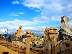 Gaudi Art (Martinian Dobre) Tags: barcelona art spain europe gaudi