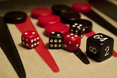 _IGP4878 (Brujah_Frenzy) Tags: red dice black game macro leather board backgammon