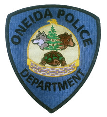 Oneida Police Patch (Nate_892) Tags: county green wisconsin bay coin conservation police grand valley badge fox milwaukee waukesha sheriff patch tribe sheboygan gresham wi chute challenge swat oneida outagamie