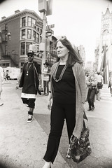 AA031 (heavyasmountains) Tags: nyc newyorkcity blackandwhite slr film 35mm photography nikon candid streetphotography noflash 24mm fm3a filmphotography streetstyle