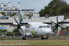 DSC_5809Pwm (T.O. Images) Tags: st airport princess air express juliana maarten sxm antilles atr42