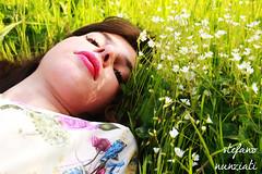 C#07 (Stefanunzio) Tags: flowers italy woman primavera girl grass donna spring italia c olive erba tuscany fiori toscana prato ragazza olivo poggioacaiano bonistallo