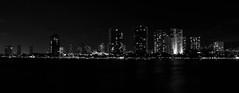 naolngalged (c.thompkins87) Tags: blackandwhite white black hawaii downtown cityscape oahu nightlight honolulu nightlife oceania alaoanapark