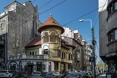 typicalstreetcorner (Andrei Photogger) Tags: house corner romania bucharest neoromanian