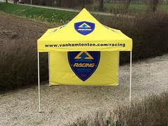 Quick Folding tent - Bedrukte tent (1)