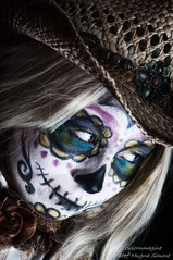 Melissa (SoloImmagine) Tags: face painting mexico skeleton skull paint mexican diadelosmuertos calavera calaca