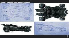 Lego Batman v Superman Batmobile Parallel (Simple1DEA) Tags: dark comics toys dawn justice dc lego superman v batman knight vs superheroes batmobile league moc bvs batmanvsuperman