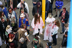 Headshots from above (Red Cathedral is alive) Tags: brussels blood cosplay o zombie sony bruxelles eerie gore horror undead grime alpha zombies oo brussel larp livingdead blooddonor redcathedral rhesus bifff zombiewalk warandepark zombieparade a850 thewalkingdead a parcroyal eventcoverage sonyalpha aztektv zombieolympics zombifff