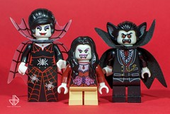 Lego families (3): meet the Vampyres (Greg 50) Tags: family red blood lego vampire families horror