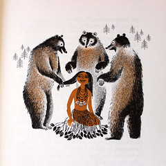 Hair Bears. (Kultur*) Tags: book nativeamerican childrens storybook anthropology americanindian childrensbooks firstpeople ruthrobbins californiastories californiaindians