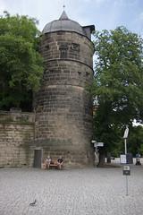 Castle guard tower (quinet) Tags: castle germany schloss chteau 2012 castleroad burgenstrase