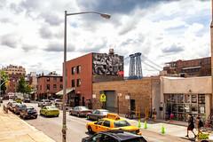 Ray Ban (Always Hand Paint) Tags: nyc fashion brooklyn advertising mural outdoor williamsburg ooh handpaint colossal colossalmedia muraladvertising b146 skyhighmurals alwayshandpaint