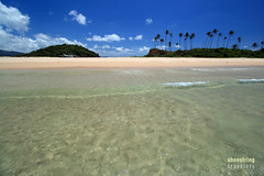 Nacpan Beach South (engrjpleo) Tags: travel sea seascape beach water landscape island coast seaside sand outdoor philippines shore elnido palawan waterscape nacpanbeach
