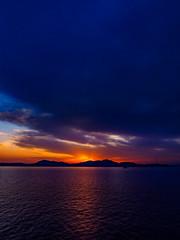 PhoTones Works #7817 (TAKUMA KIMURA) Tags: sunset nature silhouette landscape twilight scenery olympus     kimura    penf takuma     photones