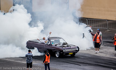 Ahmet the MAD Turk (JimmyBBlaze) Tags: green ford creek drag gold big ve ute international commodore simmons block burnout mustang hr hq mad eastern ahmed hz turk holden supercharged blown dragway 2016 myres supernats