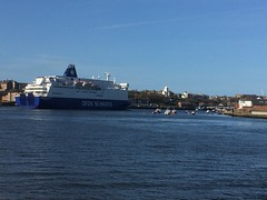 Princess Seaways (howdontrucks) Tags: dfds fishquay princessseaways