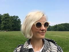 kate wirth platinum hair in park (Kate Wirth) Tags: hair platinum