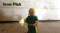 Iron Fist (AlienHunter143) Tags: comics iron lego fist figure custom marvel minifigure alienhunter143