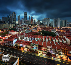 Rainstorm imminent (kenneth chin) Tags: city yahoo google nikon singapore asia chinatown rainstorm nikkor verticalpanorama tanjongpagar d810 uppercrossstreet 1424f28g