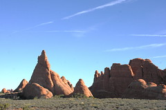 Eroded Fins (Jay Costello) Tags: red orange utah ut arch arches moab archesnationalpark fins