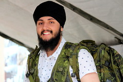 Smiling face (Honey Agarwal) Tags: family music food toronto ontario canada man color kitchen smile face proud john square army happy drums blog downtown nathan mayor kathleen prayer free parade celebration event meal april greetings females turban sikh punjab kirtan potrait wynne marshal gurudwara humans tory nagar punjabi guru hapiness waheguru serve khalsa 2016 vaisakhi sikhnewyear khalsaday sikhi nathanphilips dhol khanda langar panth osgc seaofcolors turbancolor parade2016 withahugeparadedowntown