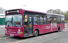 PJ02RHA 10 Yourbus (martin 65) Tags: road bus classic public buses derbyshire transport trent vehicle dennis staffordshire e200 dart derby midland matlock burton merc baslow citaro wrightbus hulleys yourbus