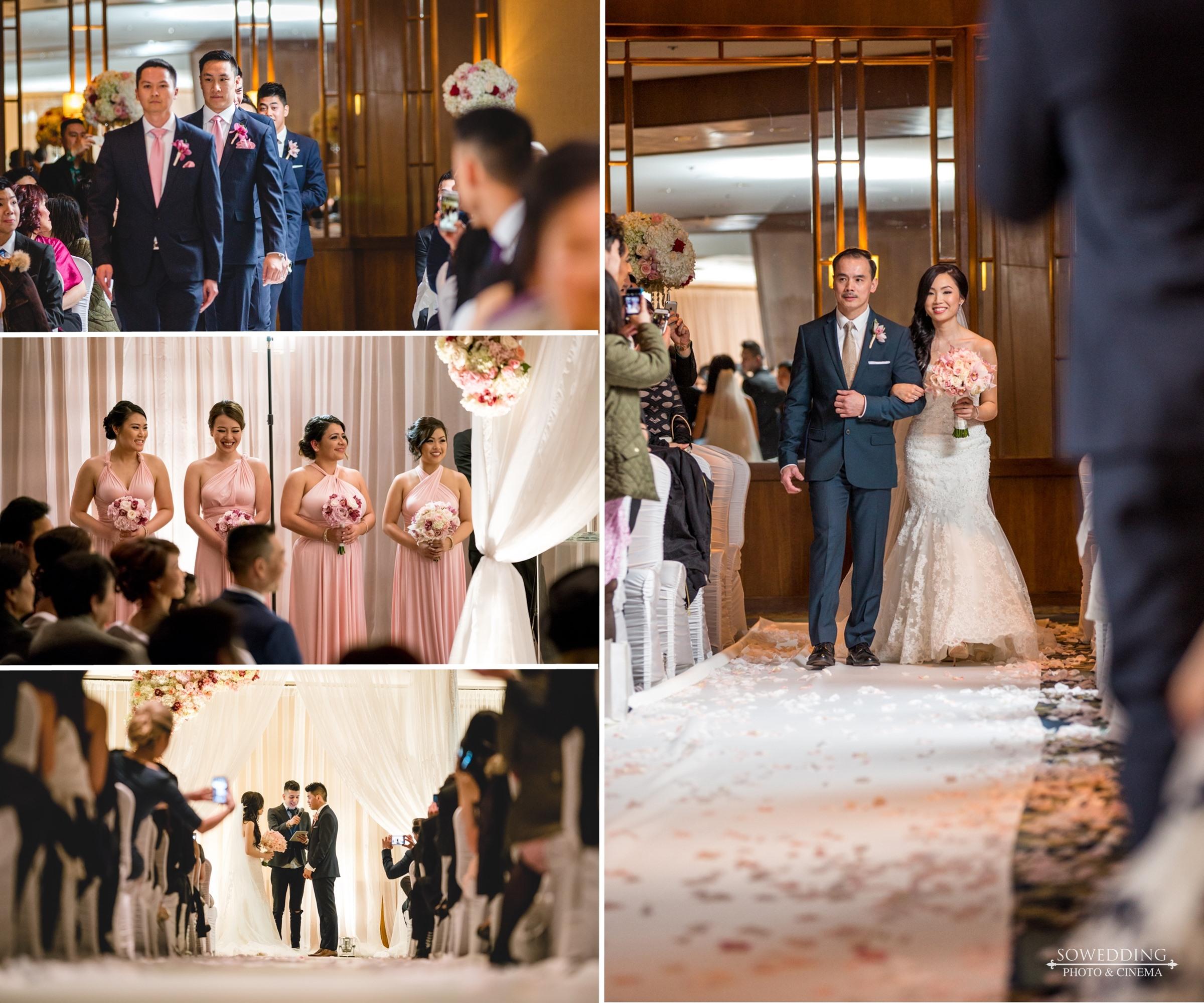 Four seasons hotel wedding - sowedding